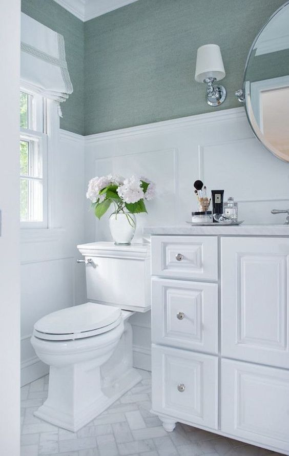 green and white bathroom ideas vancouver colour expert the best trim for bathrooms not cloud white 5407