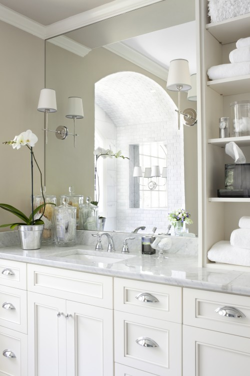 White Kitchen Handles vancouver interior designer: which pulls/knobs should you choose