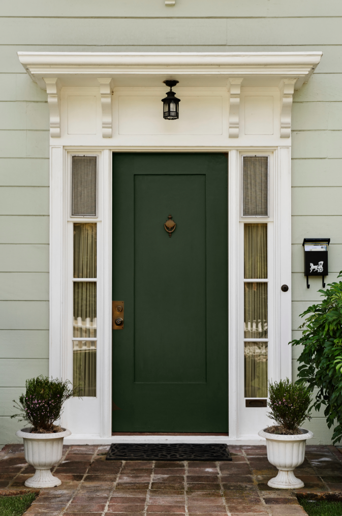 2 - Green House Paint Colors