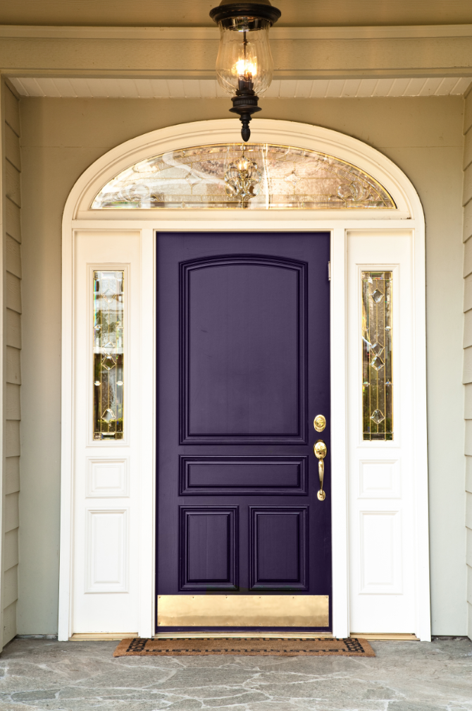 Ten best front door colours for your house maria killam Front door color ideas for beige house