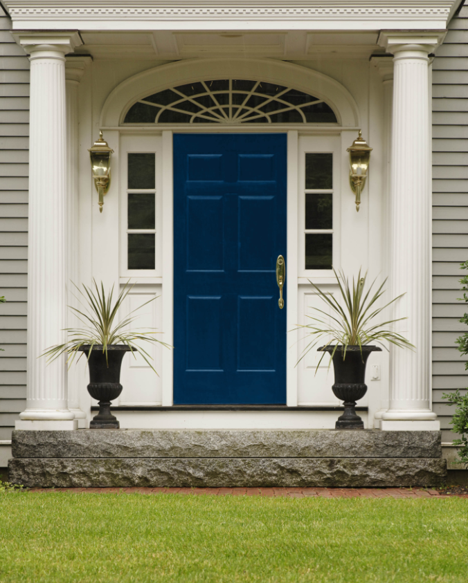Ten Best Front Door Colours for your House - Maria Killam - The True ...