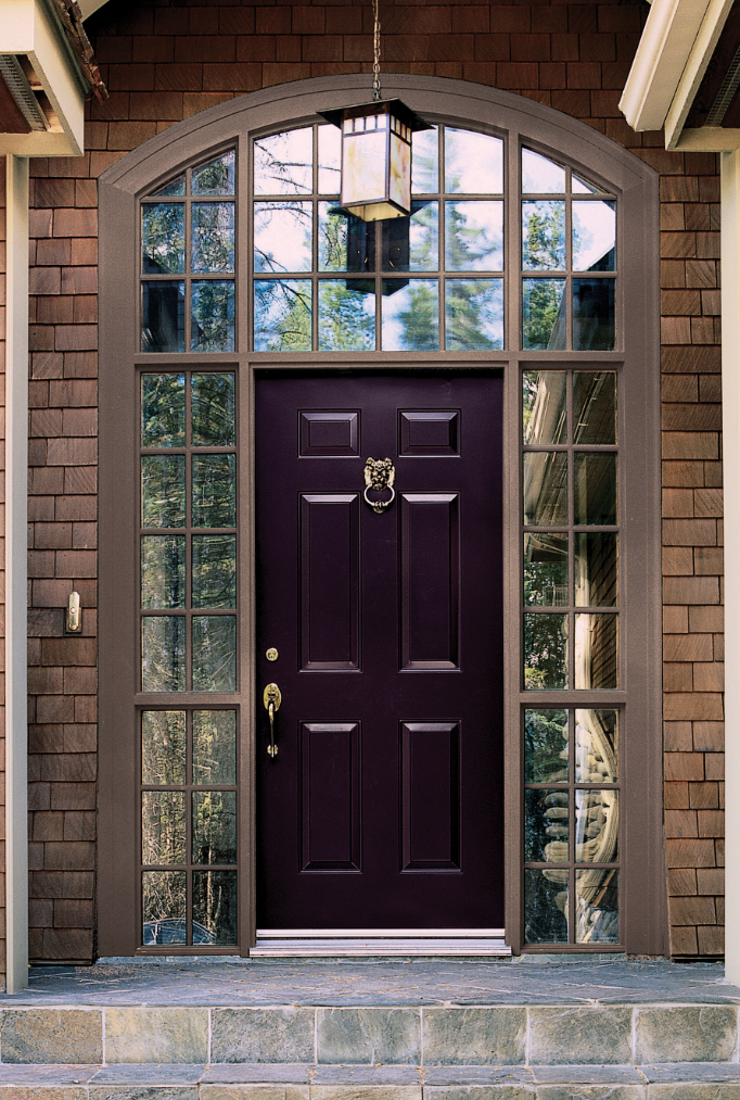 Front Door Colors For Brown House Alluring With Front Door Color Images