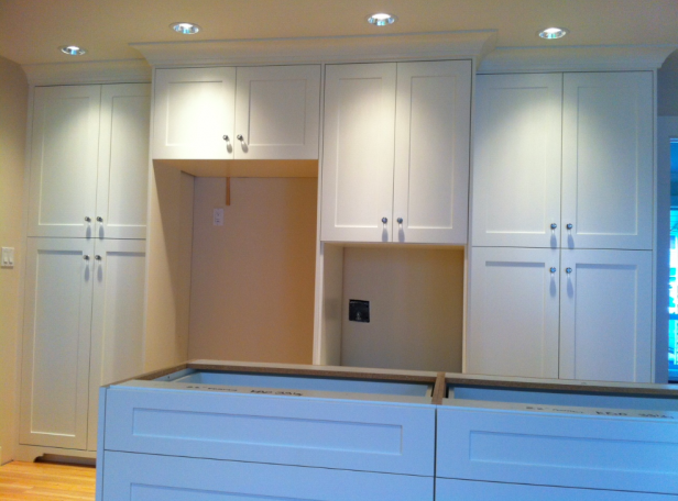 Ordinaire White Cabinets ...