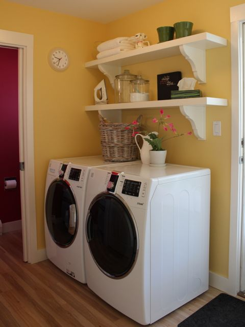 Yellow Paint Color For Laundry Room