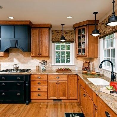 Ask Maria: How to Coordinate Finishes with Oak Cabinets ...