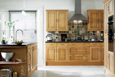Kitchen Backsplash For Oak Cabinets ask maria: how to coordinate finishes with oak cabinets - maria