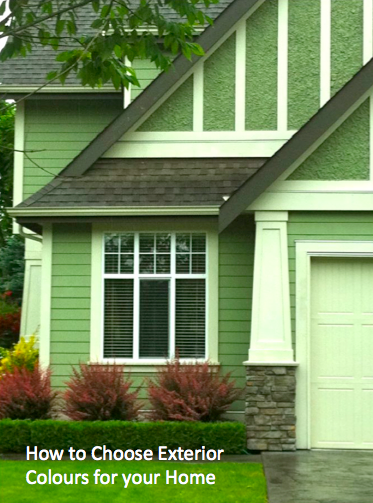 how to choose exterior colour for your home - Green House Paint Colors