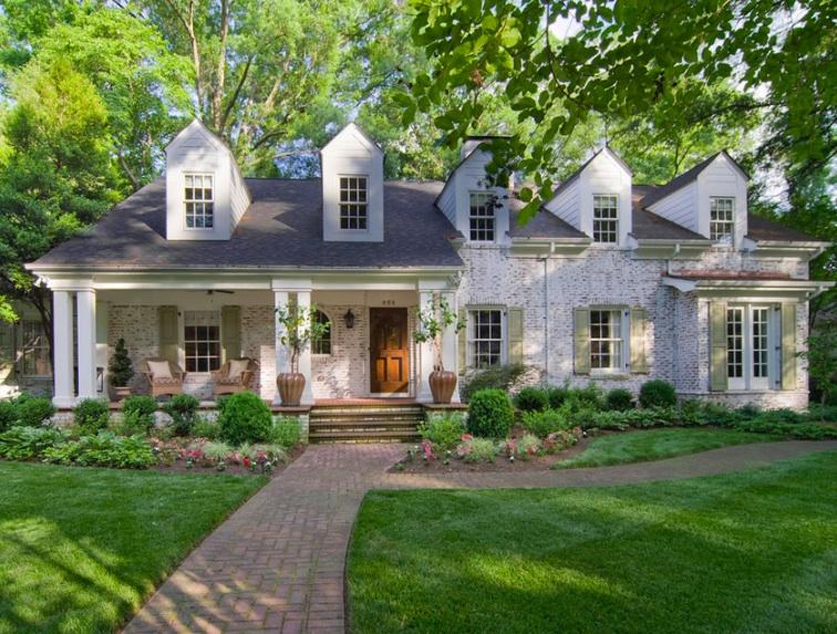 Whitewashing Can Jazz Up a Non-Descript Home | Colonial ...