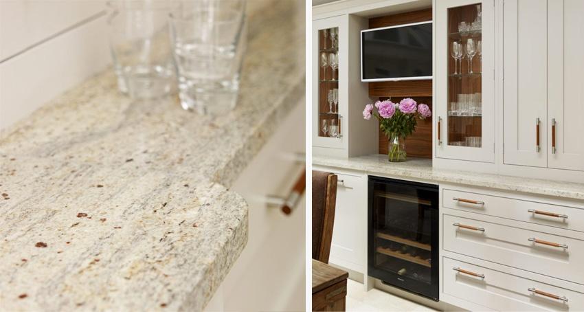 kashmir white granite kitchen