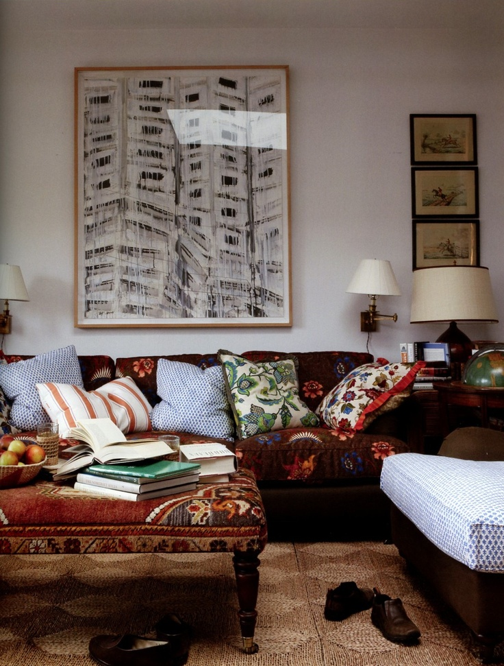 10 styling lessons from jeffrey bilhuber maria killam the true colour expert - Living room decor tumblr ...