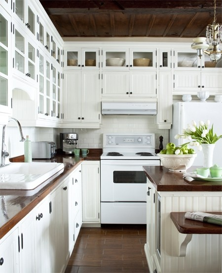 White Kitchen Stainless Appliances ask maria: would you put white appliances in a white kitchen