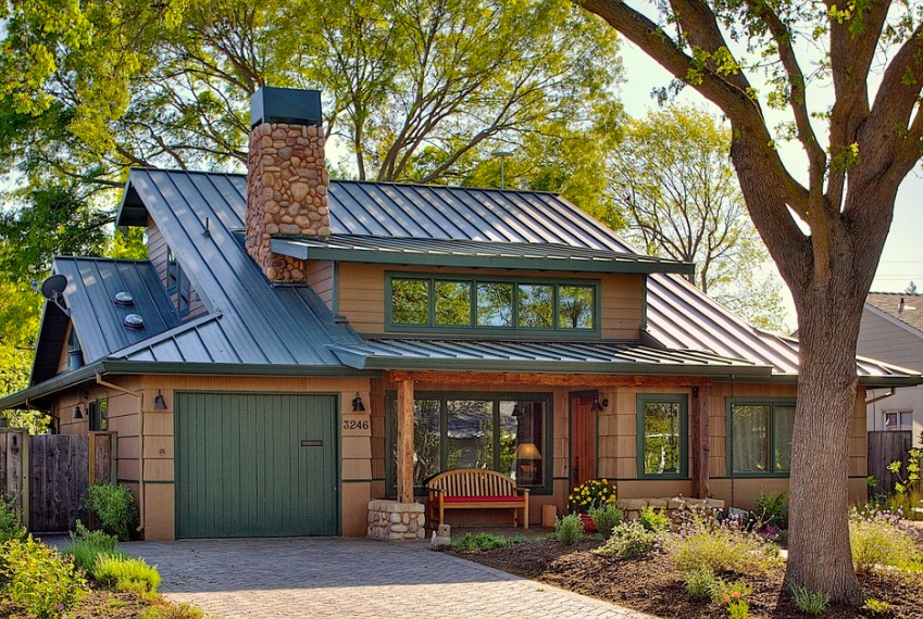 Standing Seam Roof Colour