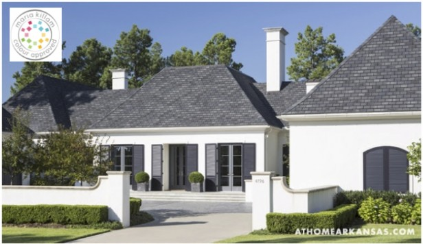 Should I Paint My House Charcoal Maria Killam The True Colour - Gray-and-white-exterior-house