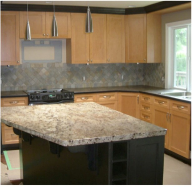 Quot Interesting Quot To Classic Kitchen Counter And Backsplash