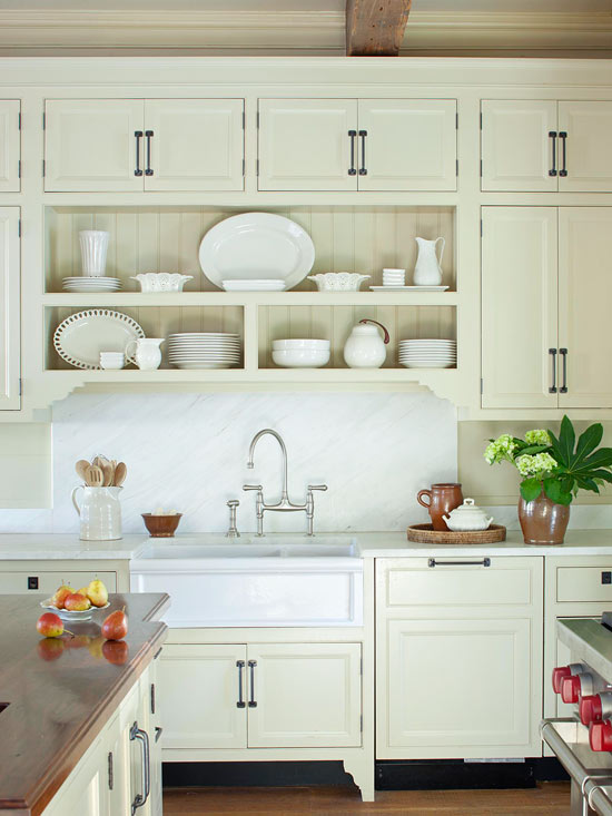 Kitchen White Subway Cream Quartz