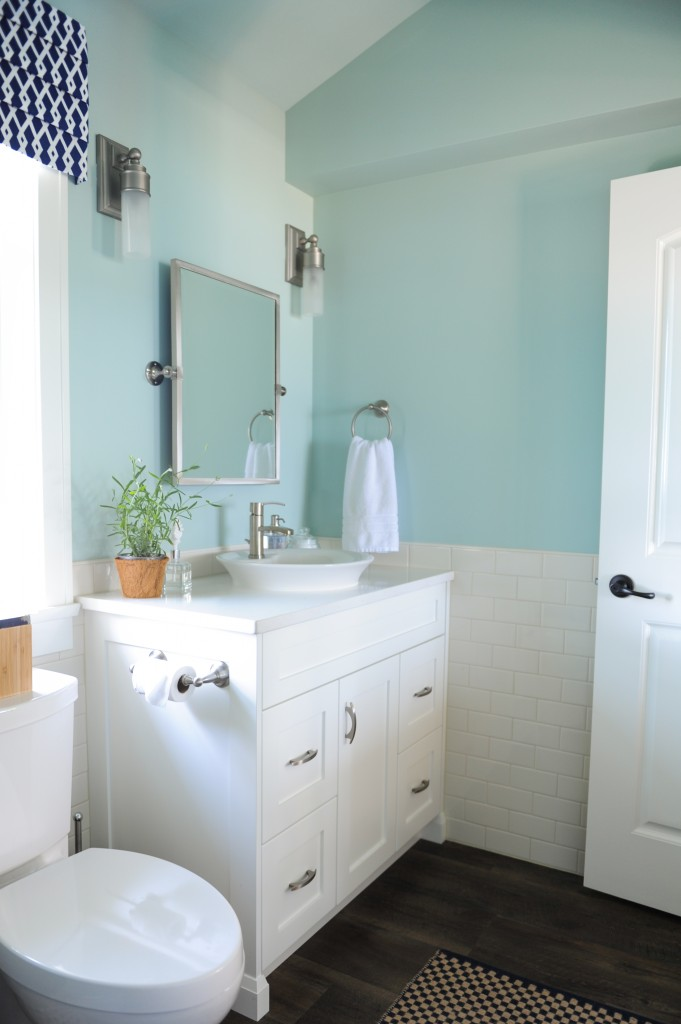 Indigo & Turquoise Summer House in the Fraser Valley: Before & After | Maria Killam