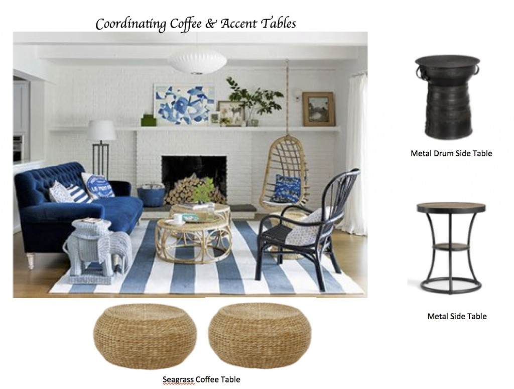 How To Coordinate Coffee Accent Tables Like A Designer