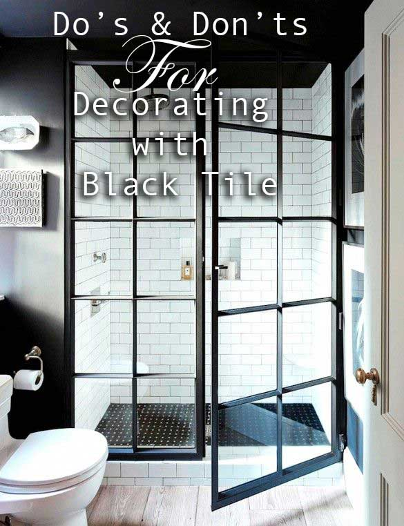 Amazing Black Tile