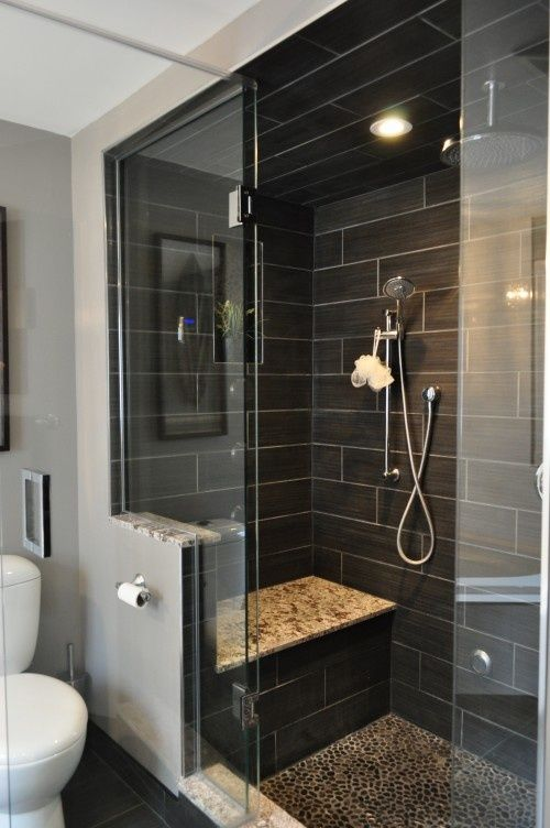 Beautiful Black Tiles In Bathroom Ideas Part - 8: Dou0027s U0026 Donu0027ts For Decorating With Black Tile | Maria Killam