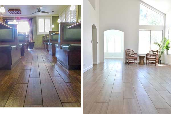 ... (and the Wrong Way) to Install Porcelain Wood Floors - Maria Killam