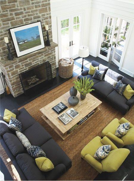 Ways Decorate Around Your Charcoal Sofa Maria Killam The True Colour Expert