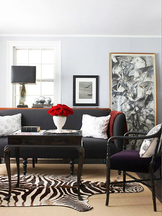 Strange 4 Ways To Decorate Around Your Charcoal Sofa Maria Killam Gmtry Best Dining Table And Chair Ideas Images Gmtryco