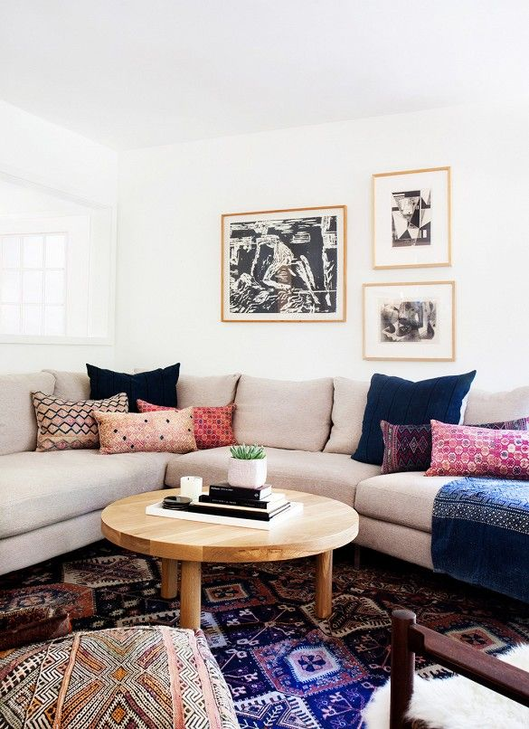 The Easy Way To Decorate Around A Tan Pink Beige Sofa Maria Killam The True Colour Expert