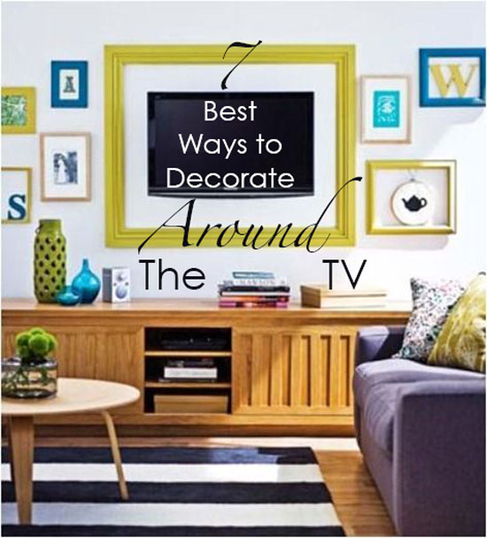 Perfect Ways To Decorate Around The TV