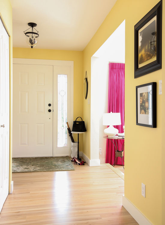 Tour My House: Learn the 6 Best Ways to Transition Colour - Maria ...