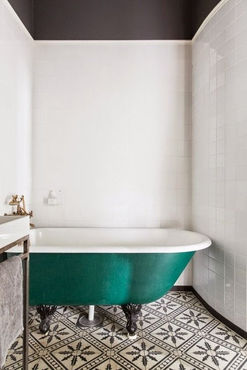 Encaustic Tile Bath