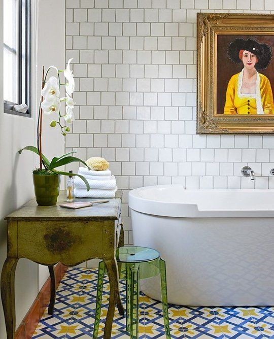 Encaustic Tiles Should You Embrace The Trend Maria Killam The - Faux encaustic tile
