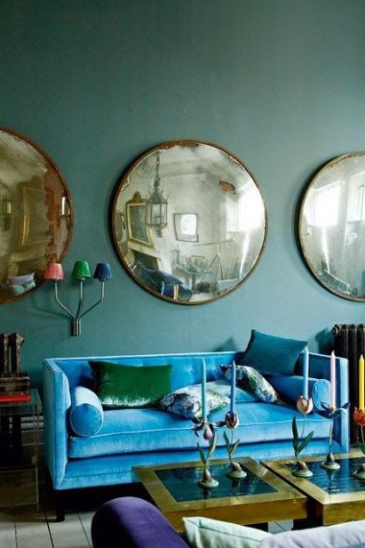Why a Colourful Sofa is as Timeless as Subway Tile