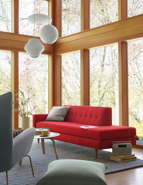 Why a Colourful Sofa is as Timeless as Subway Tile | Maria Killam