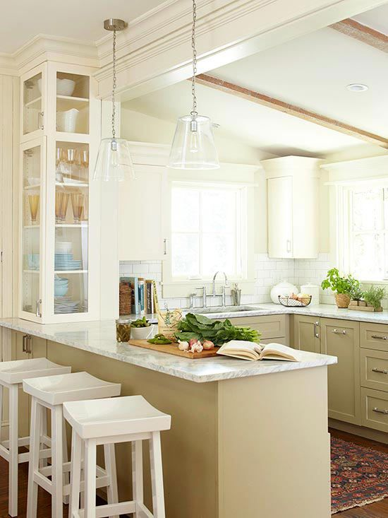 The Best Way to Add a Peninsula to your Kitchen | Maria Killam