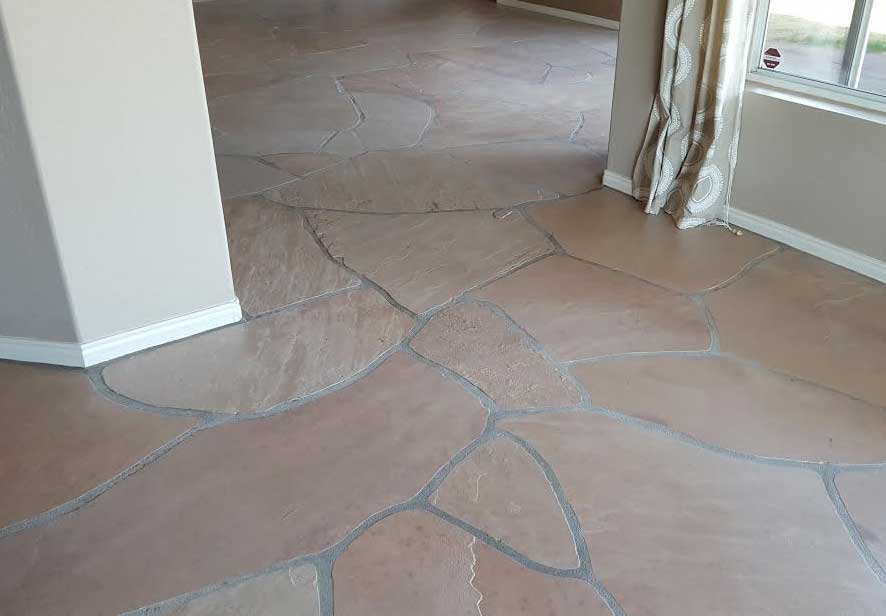 The Best Way to Work with Saltillo Flagstone (Because it's Pink) | Maria Killam