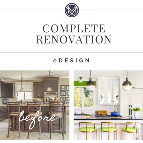 Complete Renovation eDesign