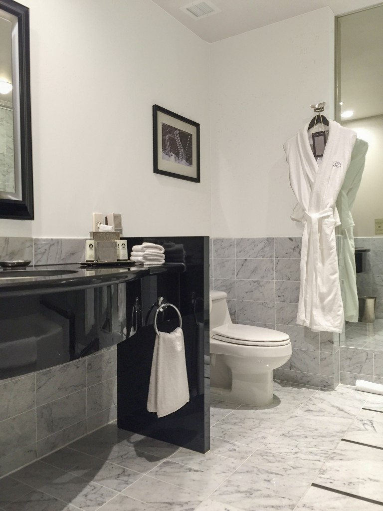 One Carrara Marble Bathroom Four Colours Maria Killam The True - Carera marble bathroom