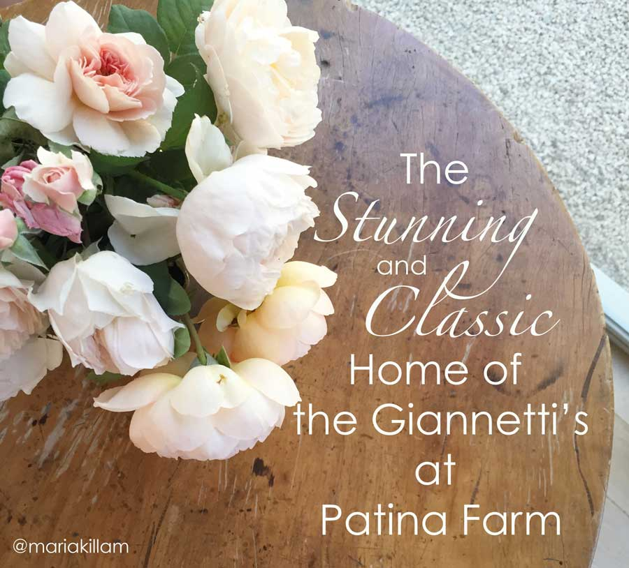 The Stunning & Classic Home of the Giannetti's at Patina Farm | Maria Killam