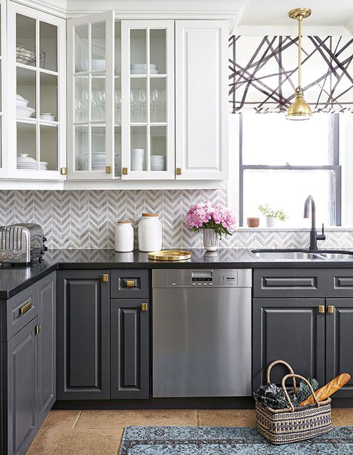 Pull Your Colours In With Backsplash Tile