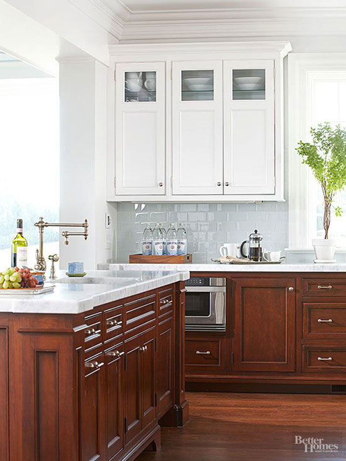 Ask Maria About Kitchen Cabinet Uppers And Lowers In Different Colours