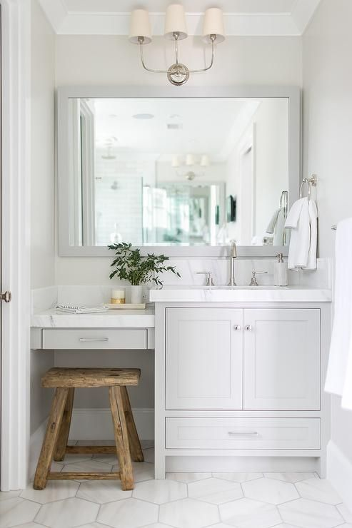 Amazing  Hex Tile Classic Bathroom Maria Killam