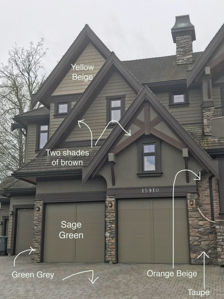 Tudor Style Home Ideas: Exterior Colour Before And After