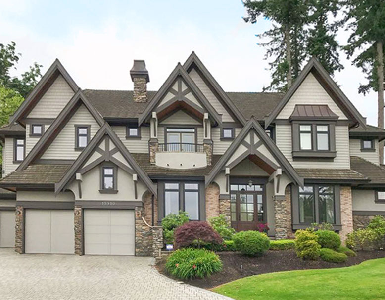 Tudor Style Home Ideas Exterior Colour Before And After