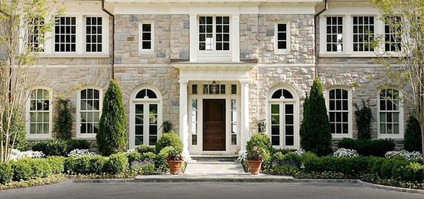 exterior stone colour