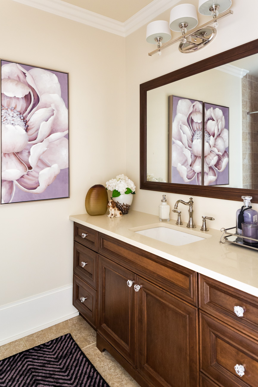 Five Ways to Update a Tuscan Bathroom; Before and After