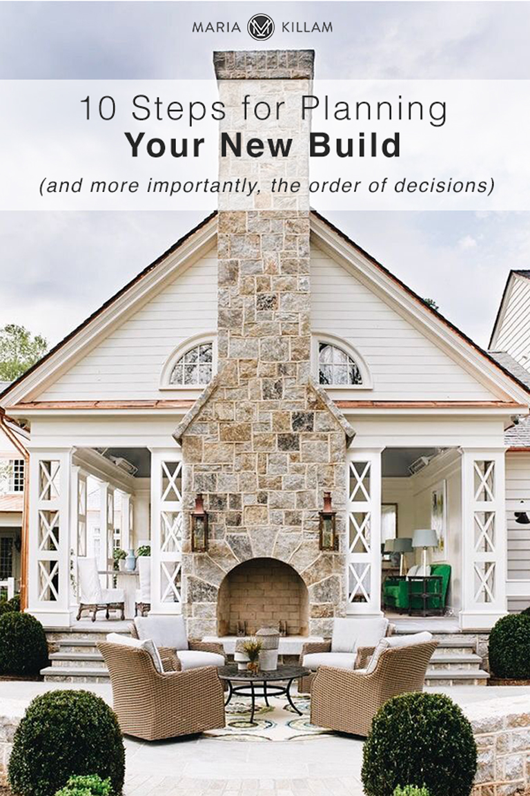 10 Steps for Planning Your New Build
