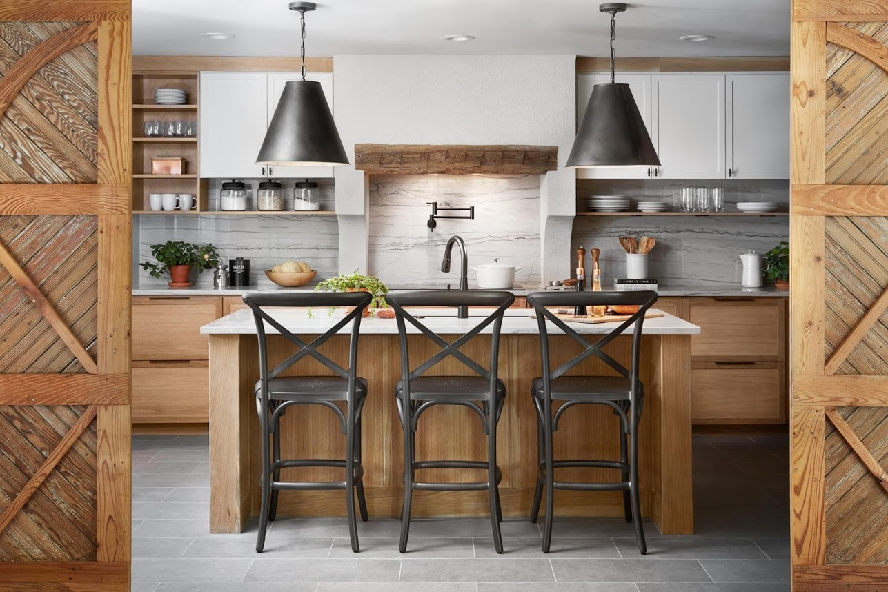 The Biggest News In Kitchens Besides Black Is New Trendy Wood Stain And Here It