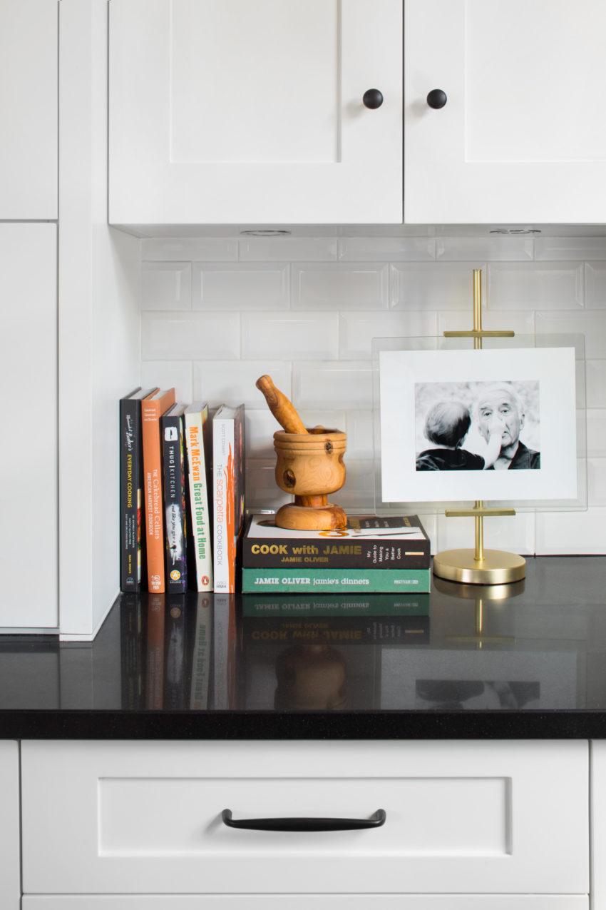 White Kitchen | Black Hardware | Vigenette Design