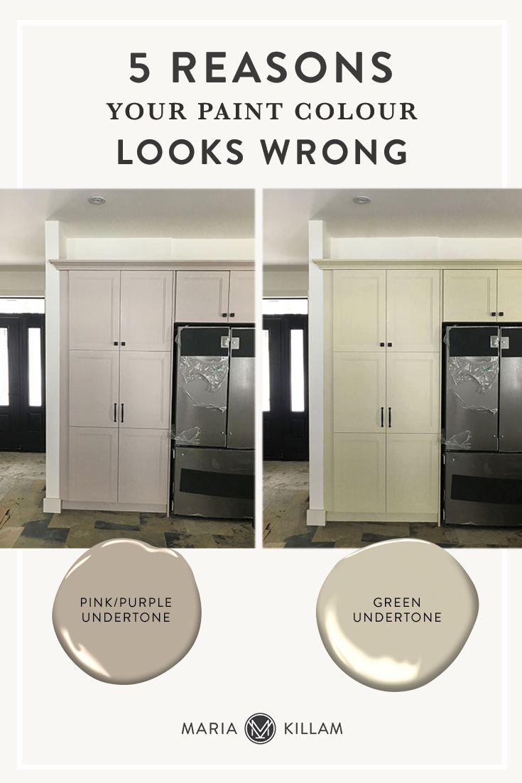When you don't like a paint colour, most blame the lighting. But lighting is rarely the reason your colour looks bad. Here are the top 5 reasons your paint colour looks wrong.