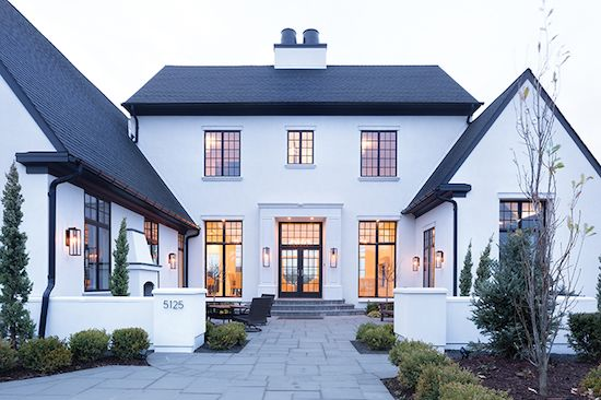 Are black windows the best choice for your new build - Houses with black windows ...